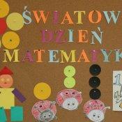 Światowy Dzień Matematyki w przedszkolu