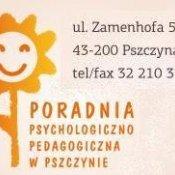 Oferta zajęć Poradni Psychologiczno - Pedagogicznej w Pszczynie
