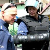 Spotkanie przedszkolaków z policjantami