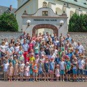 Pielgrzymka rodzin do Leśniowa