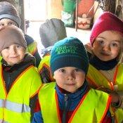 Przedszkolaki z wizytą w gospodarstwie