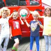 Spotkanie przedszkolaków z OSP w Studzienicach