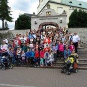 Pielgrzymka dzieci komunijnych do Leśniowa