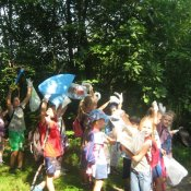Ekologiczny rajd pieszy klas drugich
