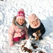 Zimowe zabawy przedszkolaków