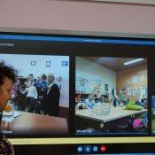 STEM CHALLENGE - wideokonferencje w ramach projektu Erasmus+