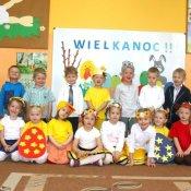Zajączek odwiedził przedszkolaków