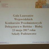 Gala Laureatów Wojewódzkich Konkursów Przedmiotowych