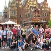 Klasa VI na szlaku wrocławskich krasnali