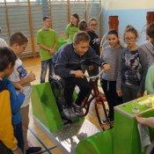 Nauka poprzez zabawę - wystawa EUGENIUSZ w naszej szkole
