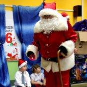 Święty Mikołaj odwiedził dzieci w przedszkolu