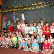 Przedszkolaki z wizytą w sali zabaw