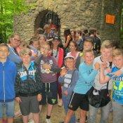 Klasa V na wycieczce w Tarnowskich Górach