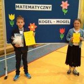 """Sukces w """"Matematycznym Koglu-Moglu"""" dla klas IV"""