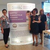 Promocja naszej szkoły na  Kongresie Rozwoju Systemu Edukacji w Warszawie