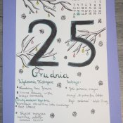 Kartki z kalendarza 7 klasy