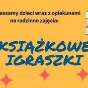 """""""KSIĄŻKOWE IGRASZKI"""" z Biblioteką Miejską"""