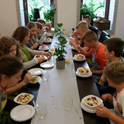 Warsztaty kulinarne - klasa VII w Patio Con Gusto