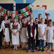 Radosne powitanie gości - nauczycielek z Włoch
