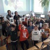 Goście z Włoch w naszej szkole