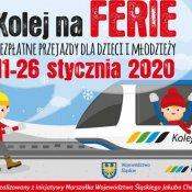 """Akcja """"Kolej na ferie"""" - bezpłatne przejazdy dzieci i młodzieży"""