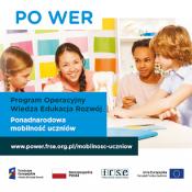 """1 września rozpoczynamy międzynarodowy projekt """"PONADNARODOWA MOBILNOŚĆ UCZNIÓW"""""""