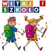 Organizacja rozpoczęcia roku szkolnego - informacja